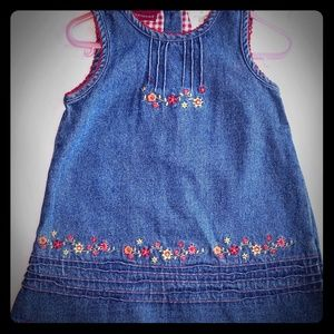 Toddler Denim Dress